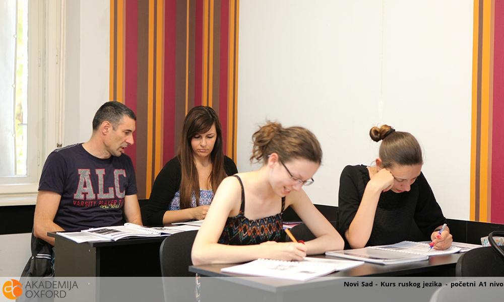 Novi Sad - Kurs ruskog jezika - početni A1 nivo