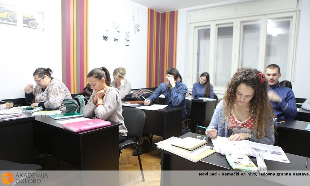 Novi Sad - nemački A1 nivo, redovna grupna nastava