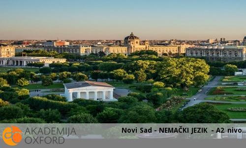 Novi Sad - NEMAČKI JEZIK - A2 nivo