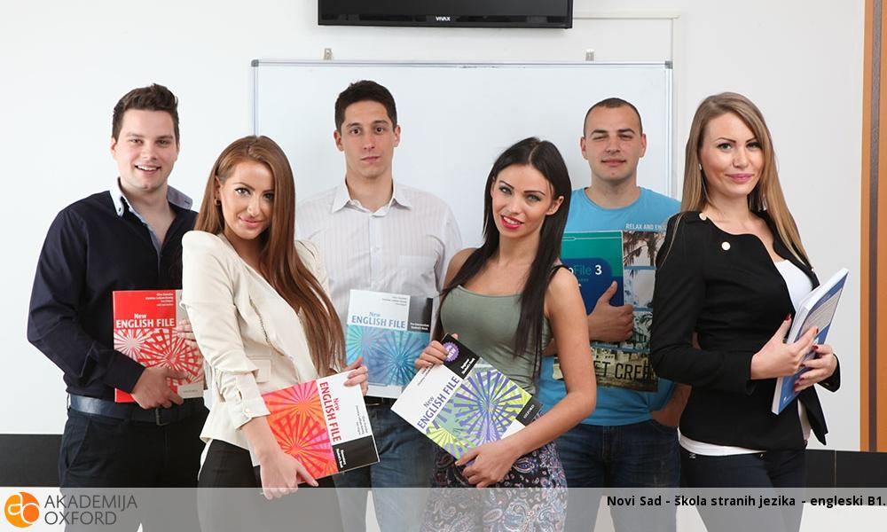 Novi Sad - škola stranih jezika - engleski B1