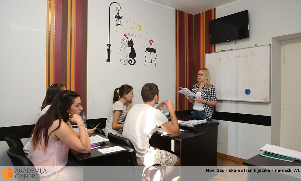 Novi Sad - škola stranih jezika - nemački A1