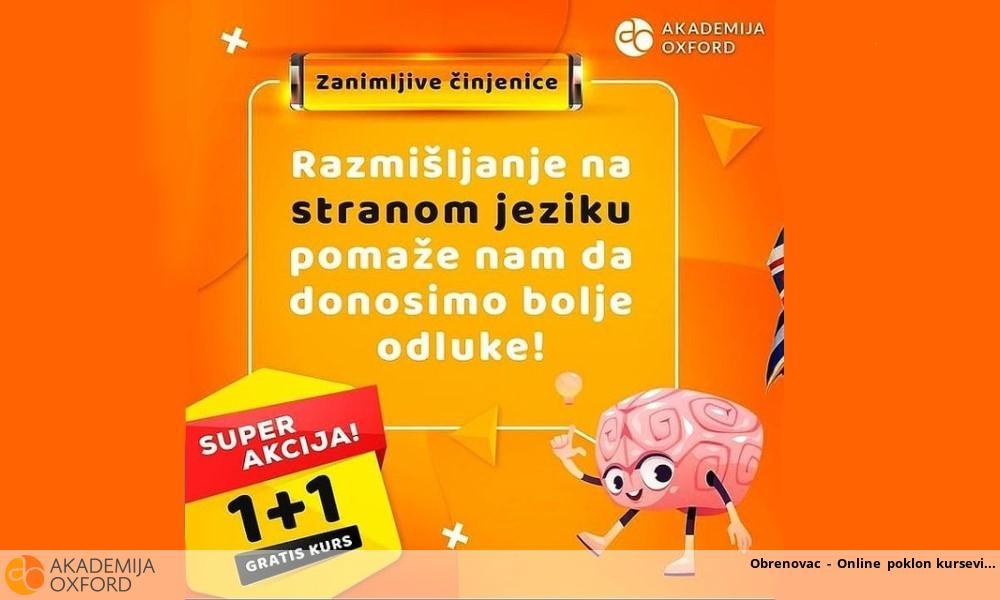 Obrenovac - Online poklon kursevi