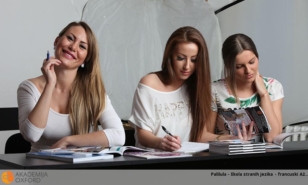 Palilula - škola stranih jezika - francuski A2