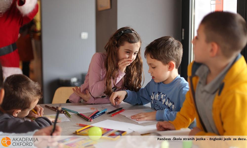 Pančevo -Škola stranih jezika - Engleski jezik za decu