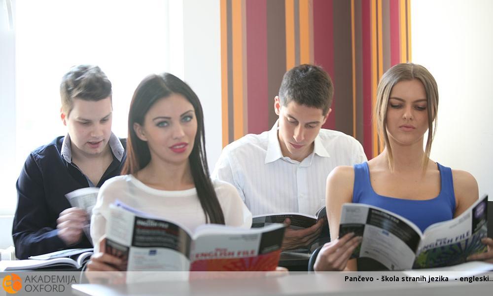 Pančevo - škola stranih jezika  - engleski