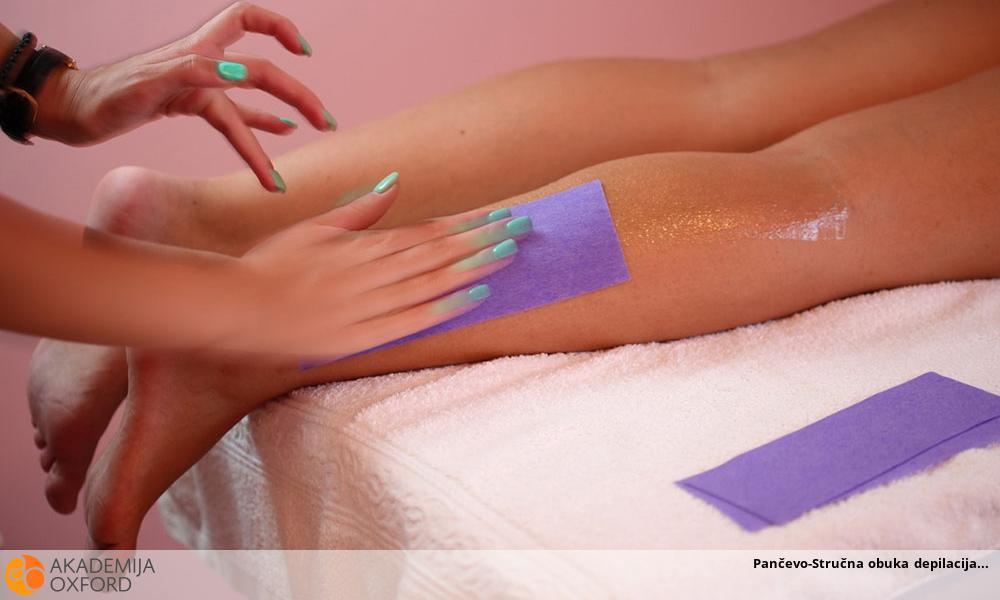 Pančevo-Stručna obuka depilacija
