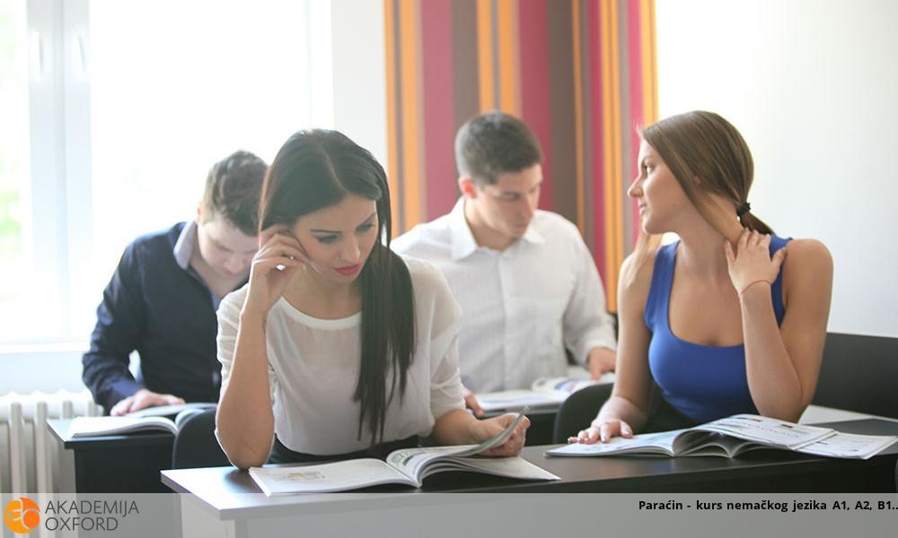 Paraćin - kurs nemačkog jezika A1, A2, B1