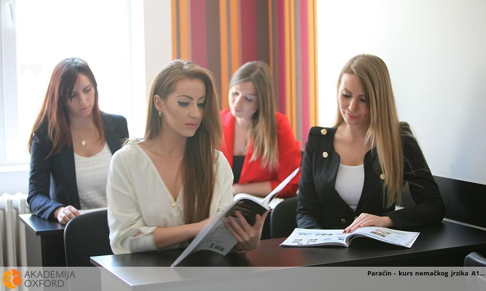 Paraćin - kurs nemačkog jrzika A1