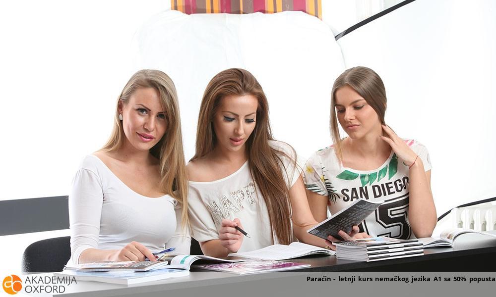 Paraćin - letnji kurs nemačkog jezika A1 sa 50% popusta