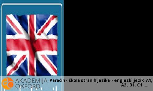 Paraćin - škola stranih jezika - engleski jezik A1, A2, B1, C1...