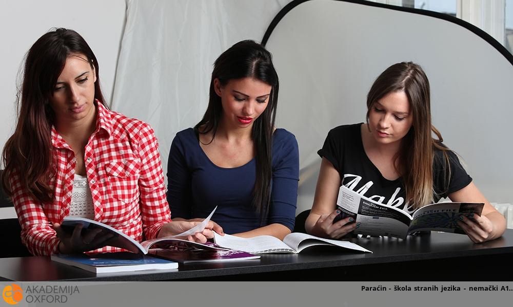 Paraćin - škola stranih jezika - nemački A1