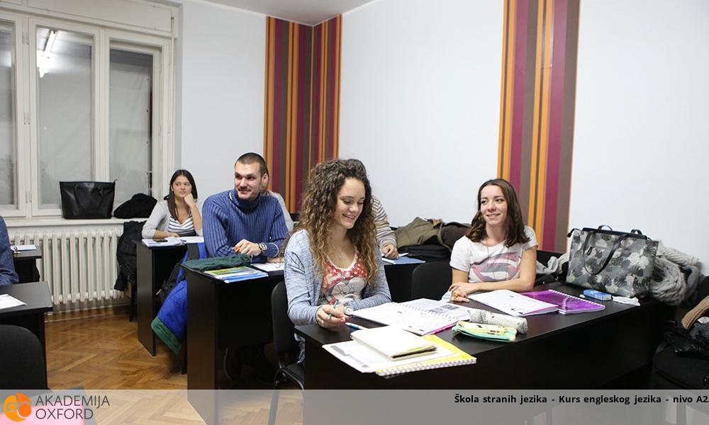 Škola stranih jezika - Kurs engleskog jezika - nivo A2