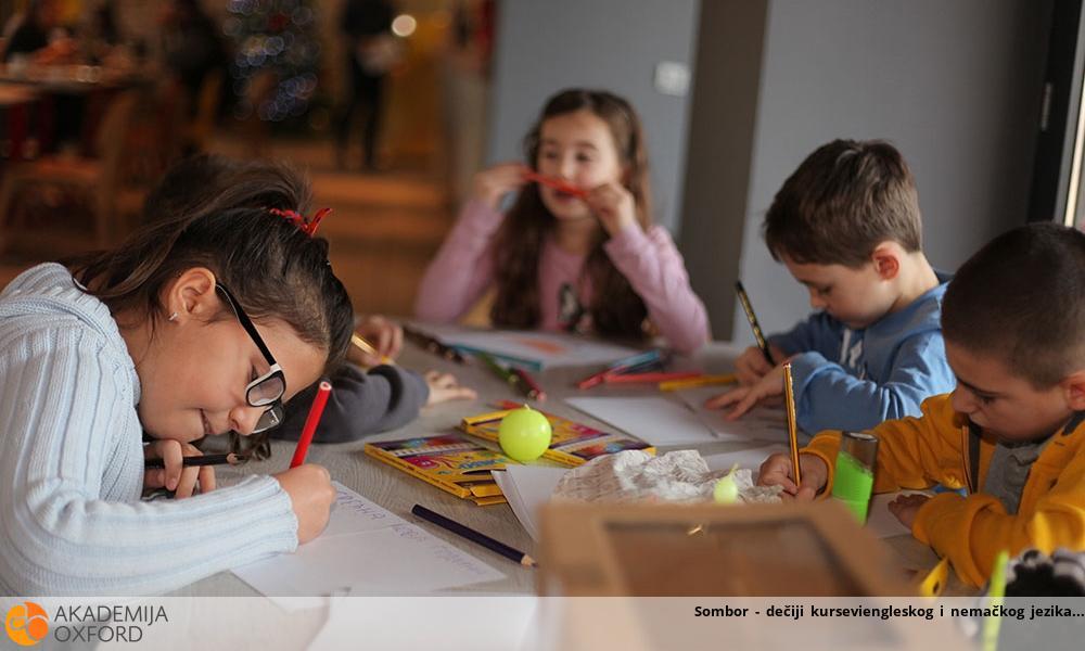Sombor - dečiji kurseviengleskog i nemačkog jezika