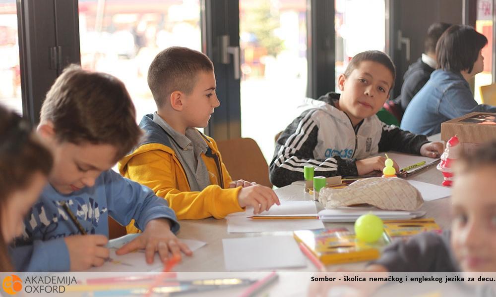 Sombor - školica nemačkog i engleskog jezika za decu