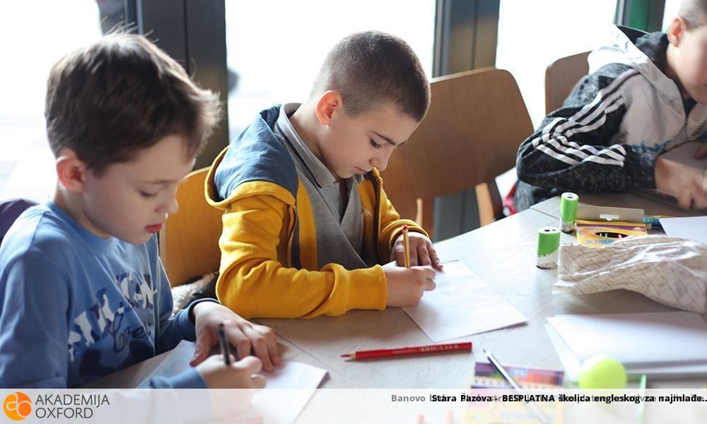 Stara Pazova - BESPLATNA školica engleskog za najmlađe