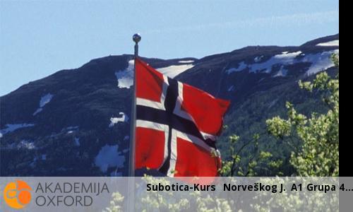 Subotica-Kurs  Norveškog J. A1 Grupa 4