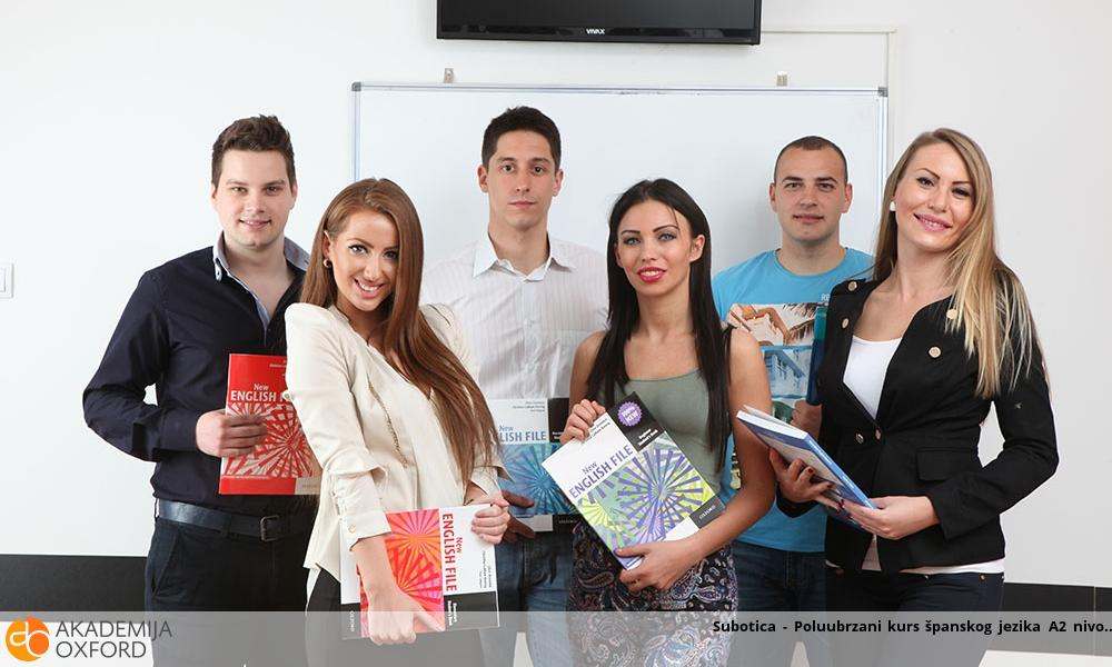 Subotica - Poluubrzani kurs španskog jezika A2 nivo