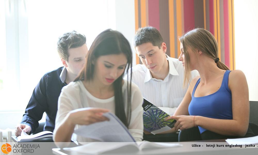 Užice -  letnji kurs engleskog  jezika