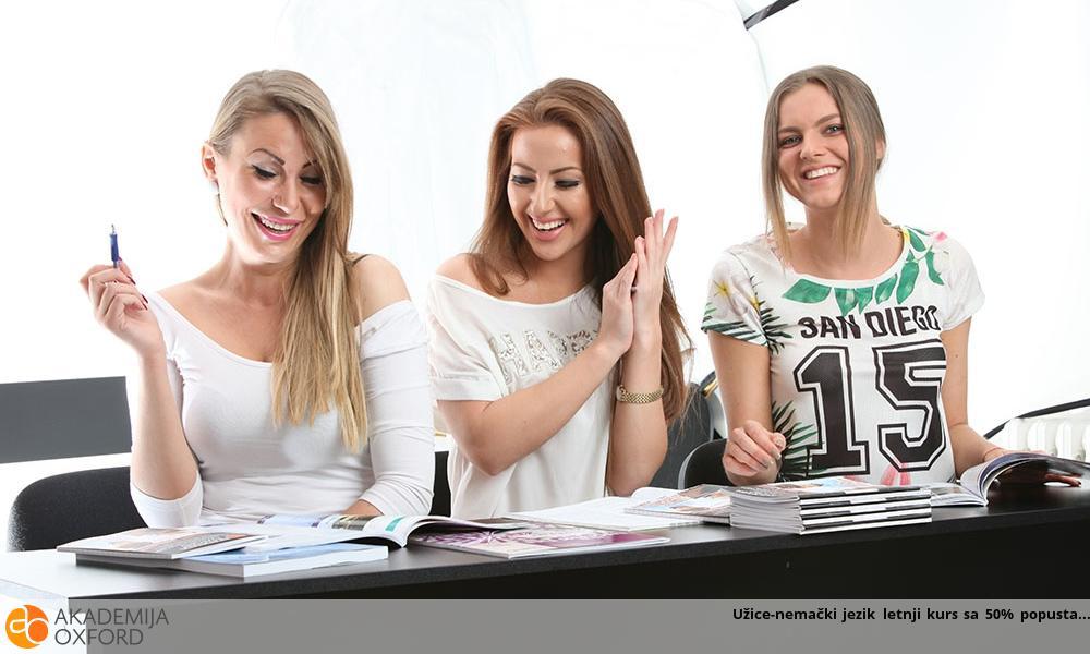 Užice-nemački jezik letnji kurs sa 50% popusta