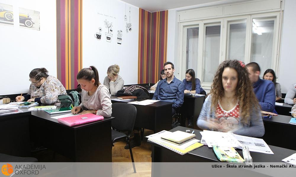 Užice - Škola stranih jezika - Nemački A1