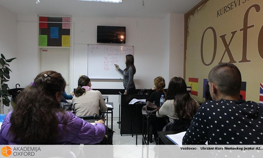 Vozdovac-  Ubrzani Kurs Nemackog jezika A2