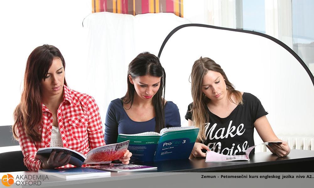 Zemun - Petomesečni kurs engleskog jezika nivo A2