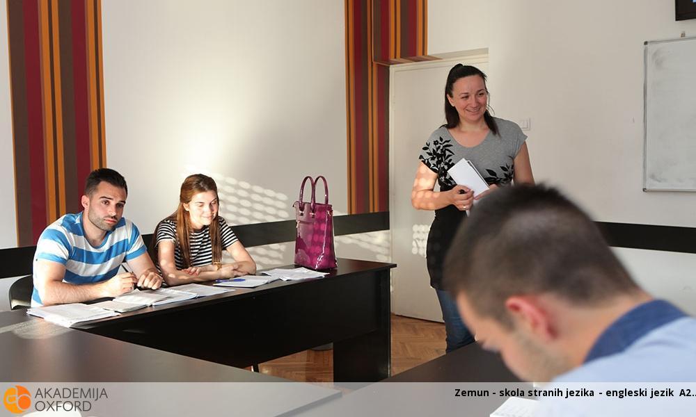 Zemun - skola stranih jezika - engleski jezik A2