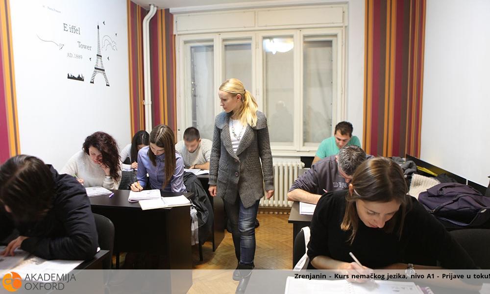 Zrenjanin - Kurs nemačkog jezika, nivo A1 - Prijave u toku!