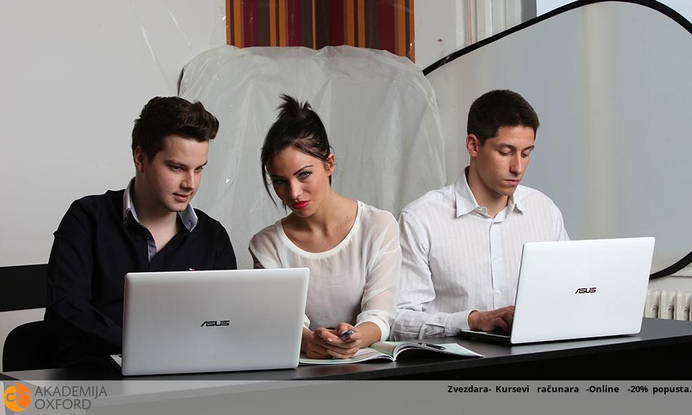Zvezdara- Kursevi  računara  -Online  -20% popusta